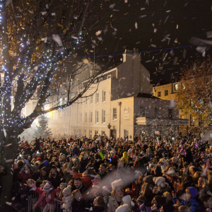 ST HELIER CHRISTMAS LIGHTS SWITCH ON