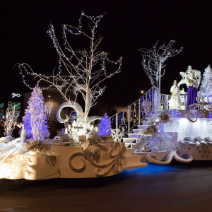 THE JERSEY BATTLE OF FLOWERS CHRISTMAS PARADE