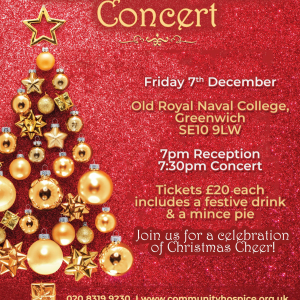Greenwich and Bexley Community Hospice Carol Concert