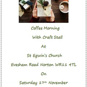 St Egwins Coffee Morning