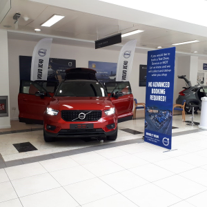 Back by popular demand: Shoppers can test drive latest Volvos for free at the Mander Centre