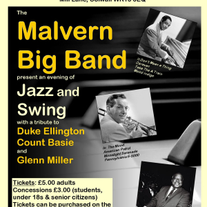 Malvern Big Band Concert