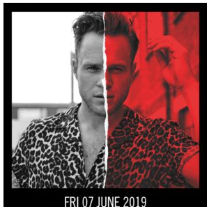 Olly Murs at Kingsholm Stadium, Gloucester | Friday 7th June 2019