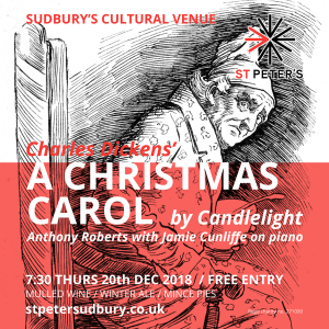 St Peter's presents... A Christmas Carol by candlelight