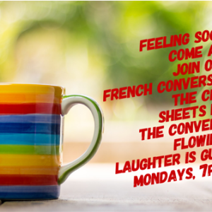 Brighton and Hove's French conversation group