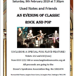 An Evening of Classic Rock and Pop