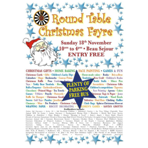 ROUND TABLE CHRISTMAS FAYRE