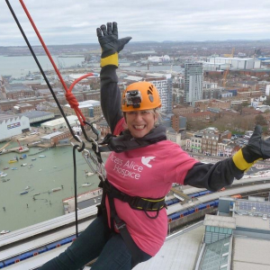 Spinnaker Tower Abseil for Princess Alice Hospice