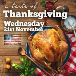 Join us for Thanksgiving at The Wheatsheaf