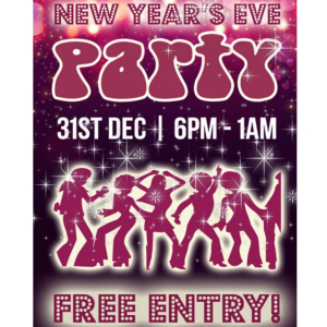 New Year's Eve Party at The Wheatsheaf.
