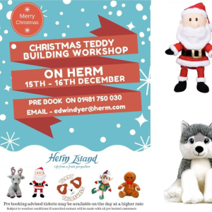 BUILD A BEAR CHRISTMAS WORKSHOP - HERM ISLAND