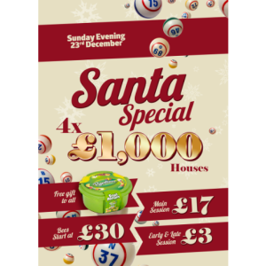 Santa Special at Apollo Bingo