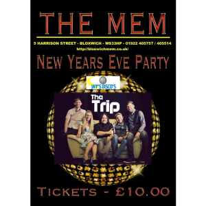 New Year's Eve @ Bloxwich Memorial Club