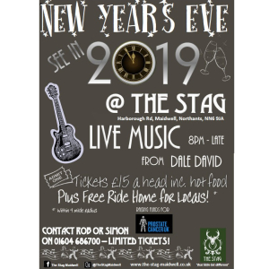 New Years Eve at The Stag.