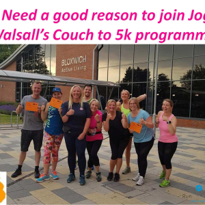 C25K programme Pelsall (St Michaels) May-July 2019, 12 weeks