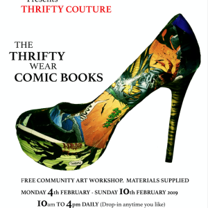 The Thrifty Wear Comic Books