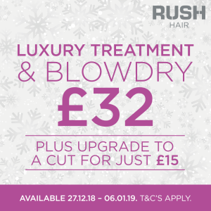 Party Offer at Rush Hair Bromley