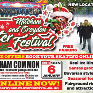 MITCHAM and CROYDON FAMILY  WINTER FESTIVAL