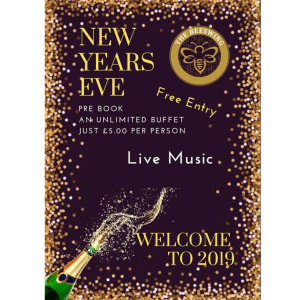 Welcome in 2019 in Style at The Beeswing.