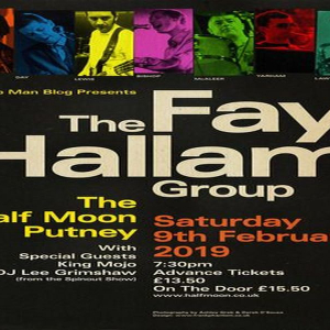 The Fay Hallam Group Live at Half Moon Putney London Saturday 9th February