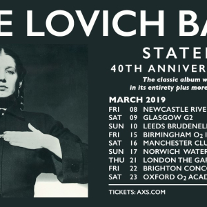 Lene Lovich celebrates 40th anniversary of 'Stateless' on UK tour