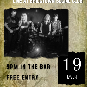 Shellshocked LIVE at the Bridgtown Social Club
