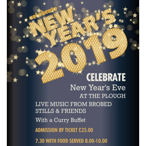 Celebrate New Year's Eve at The Plough