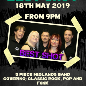 Best Shot LIVE at the Bridgtown Social Club