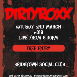 DirtyRoxx - LIVE at the Bridgtown Social Club