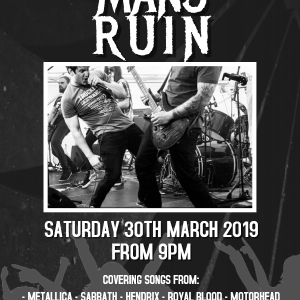 Mans Ruin LIVE at the Bridgtown Social Club