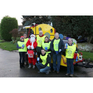 Santa Christmas Collections with Epsom Rotary @EpsomRotary