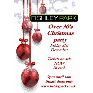 Over 30's Night @ Fishley Park