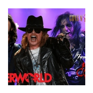 Guns 2 Roses/Faux Fighters/Alice Cooper tribute - The Underworld