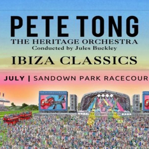 Pete Tong and The Heritage Orchestra at Sandown Park Racecourse
