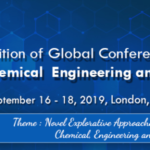 5th Edition of Global Conference on Catalysis, Chemical Engineering & Technology