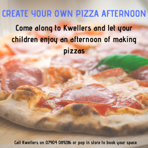 Children's - Create your own pizza afternoon
