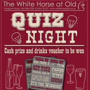 Monthly Quiz at The White Horse.