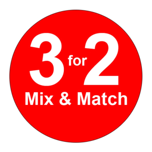 3 for 2 on all clothing