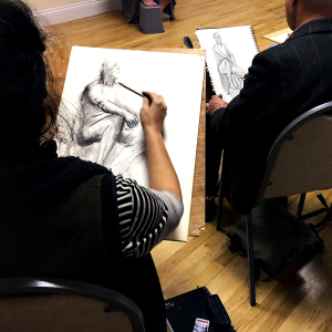 Life Drawing in Appleford, Abingdon