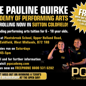 Pauline Quirke Academy of Performing Arts FREE Open Day