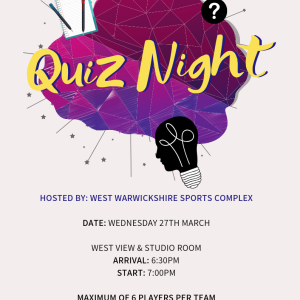Quiz Night at West Warwicks