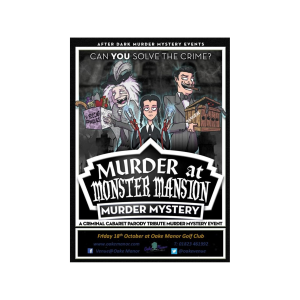 Murder at Monster Mansion ~ Murder Mystery Evening