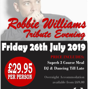 Robbie Williams Tribute