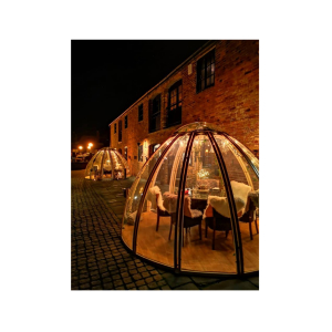 Romantic Valentine Igloos at The Waterfront