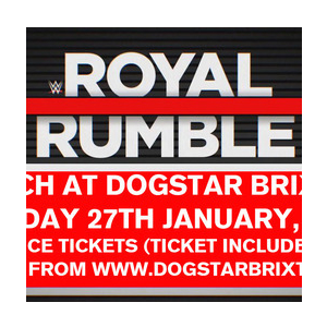WWE Royal Rumble 2019 at Dogstar