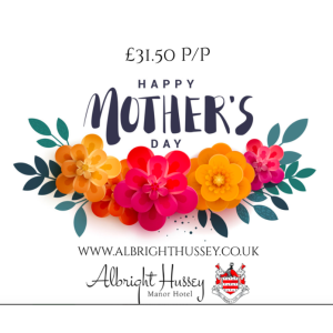 Mother's Day 2020 at the Albright Hussey Manor Hotel