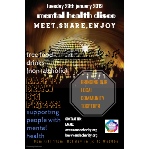 FREE Disco Event for Mental Health