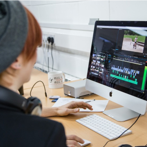 Video editing tuition