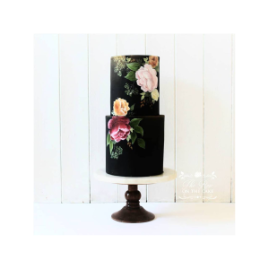 2 Tier Painted Floral 2 one day classes
