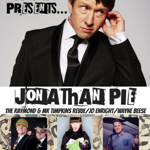 LIVE! At the Town Hall ft Jonathan Pie